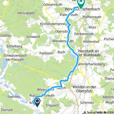 Mantel - WE über Sauerbachtal