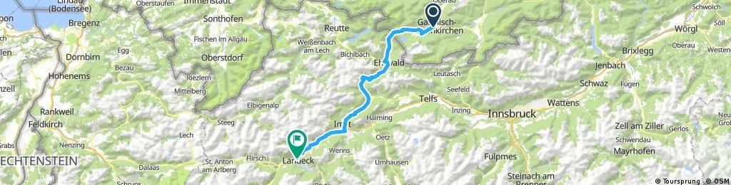 Alpencross Tag 1