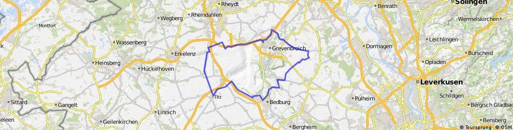 Bedburg - Oekoven - Hemmeden - Holz - Bedburg
