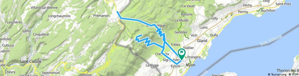 El Jura del Vaud desde Nyon