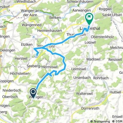 C14-Oberaargau Samstagsetappe