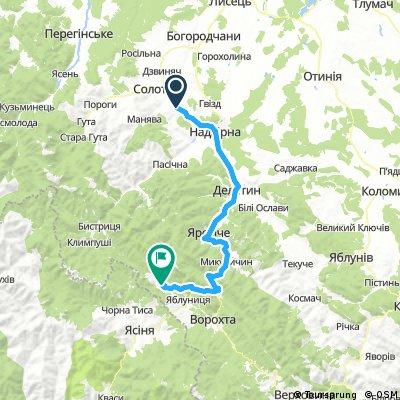 Буковель(+144 км)
