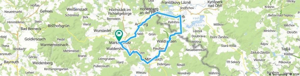 ADFC-Hof: Rundtour auf dem Wallenstein-Radwanderweg Marktredwitz – Eger