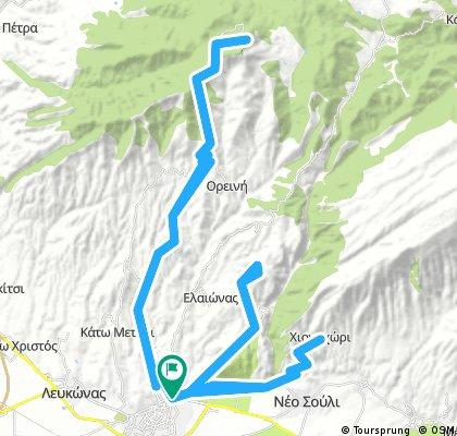 Serres-Lailias ski center-Marmaras-Chionochori-Serres