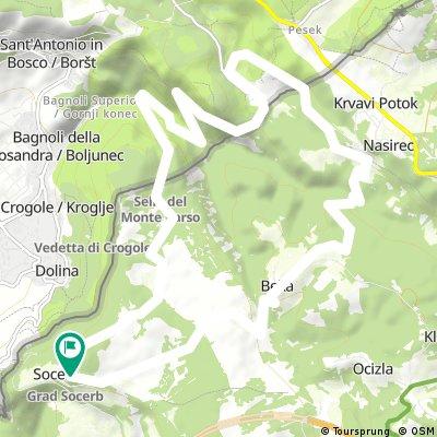 Socerb- dolina Glinščice - Socerb