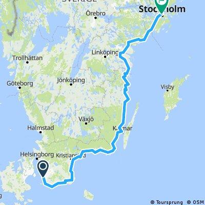 Suède par la côte