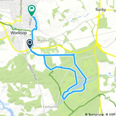 bike tour through Bassetlaw
