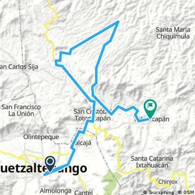 Circuito Quetzaltenango 8 Vueltas Totonicapan