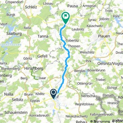 Hof - Schönberg(Vogtl)