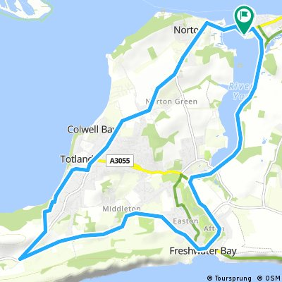 Yarmouth to Freshwater