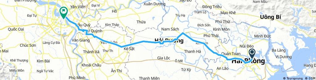 Hai Phong - Hanoi