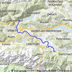 Schotter: Ossiachersee - Drauradweg (Rosental) CLONED FROM ROUTE 96173