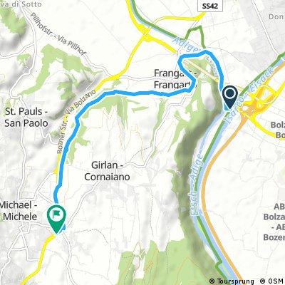 Short bike tour through Bolzano