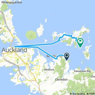 New Zealand 2016 Maratai - Orapiu Bay