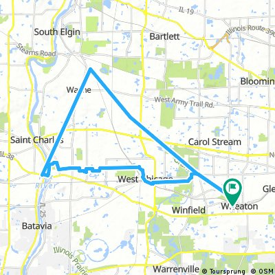 bike tour through Wheaton