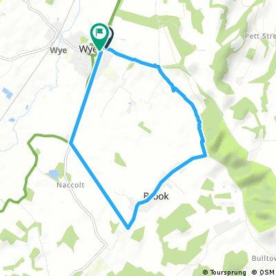 Short bike tour through Ashford