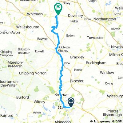 Headington to Napton via Oxford Canal