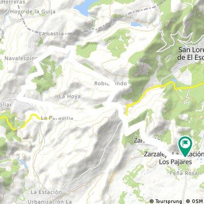 Zarzalejo- Cruz verde 35 k 900 mtrs.