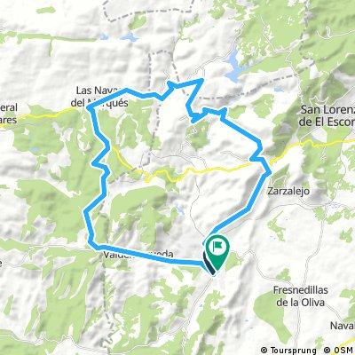 Robledo Vuelta 50 km 1130 mtrs