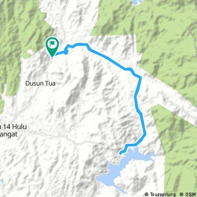 Long ride through Ulu Langat