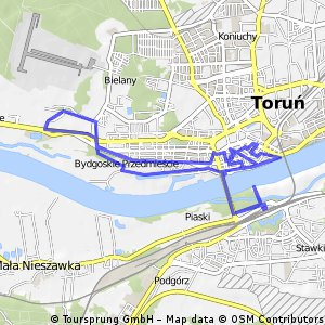 Cycling routes and bike maps in and around Toru Bikemap Your