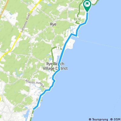 Wallis Sands to Hampton Beach