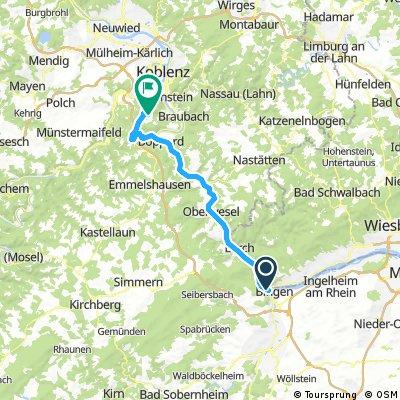 Dag 3 groep 2 B Drie Daagse Bingen am Rhein