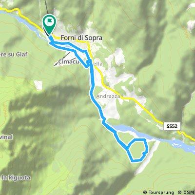 Forni di Sopra: anello Tagliamento est