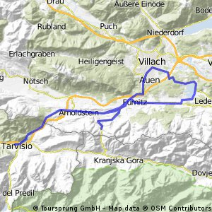 Faaker See - Wurzenpass - Tarvisio - Villach - Faaker See