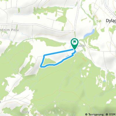 2 km Bieg Niezłomnych Dylągówka