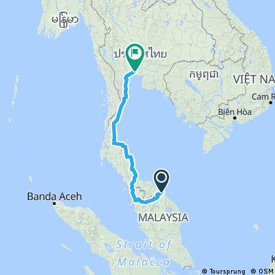 3. Penang - Bangkok