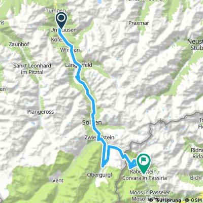 AX2016 Tag 3 Umhausen-Rabenstein 67 km 2099 Hm