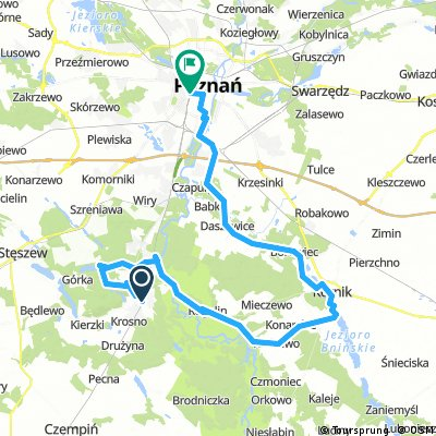 Mosina - Poznań