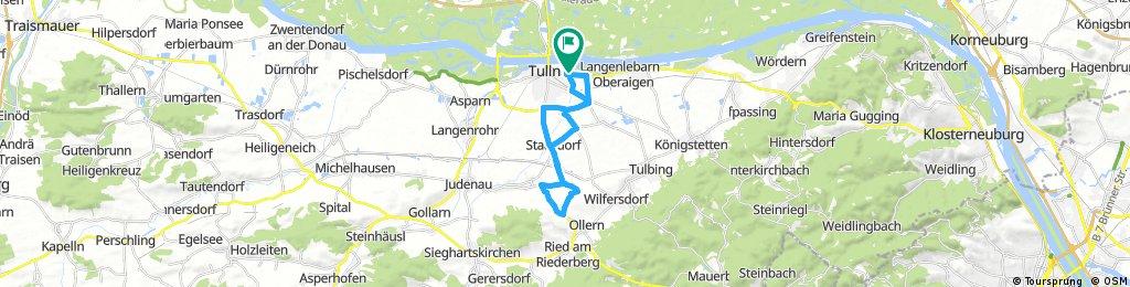 bikepirat.at Tulln Triathlon 2017 - Radstrecke