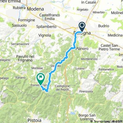 Bologna to Halfway