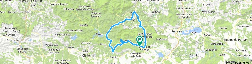 Ruta de los Pantanos, Potes, San Glorio, Boca de Huérgano- Velilla