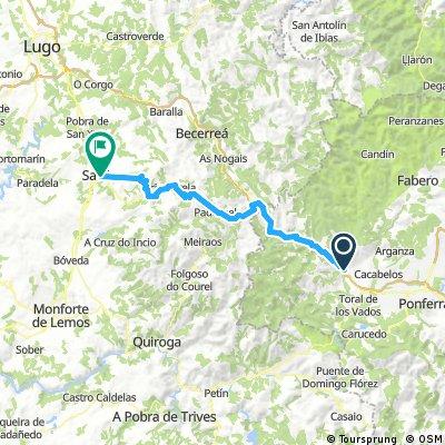 When I rode through Spain