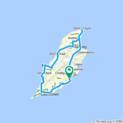 IOM 75 miles 1370 Meters