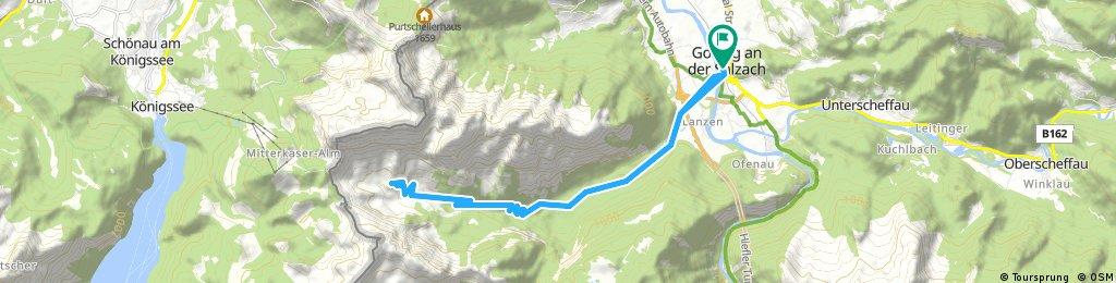 Golling: Jochalm Route