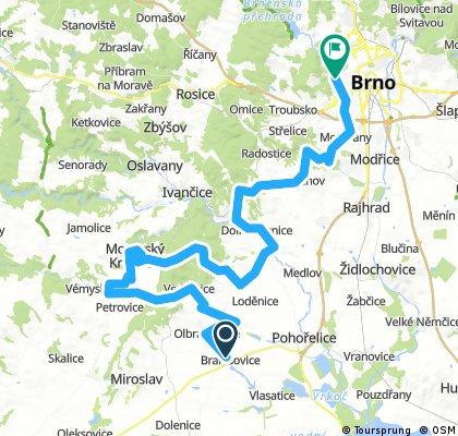 MW D7 Branisovice - Brno