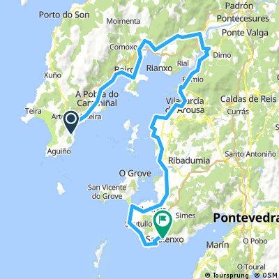 ribeira - sanxenxo 93 km 650 hm
