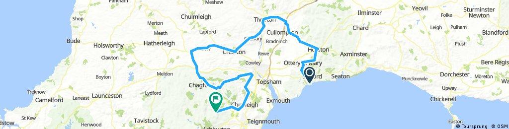 ToB 2016 Stage 6: Sidmouth - Haytor, Dartmoor