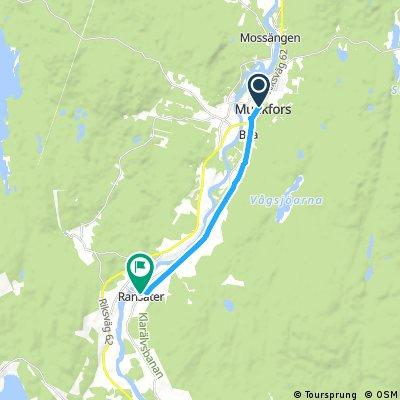 Sykkeltur Munkfors-Ranseter