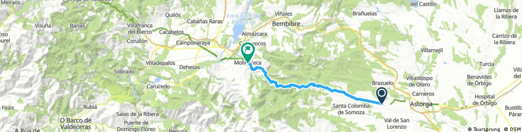Camino Francés Day 5 Santa Catalina de Somoza→Villafranca-del-Bierzo