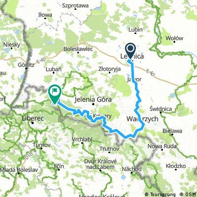 Tour de Pologne Marzeń etap VII Legnica- Stóg Izerski