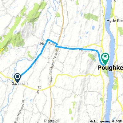 Gardiner to Poughkeepsie