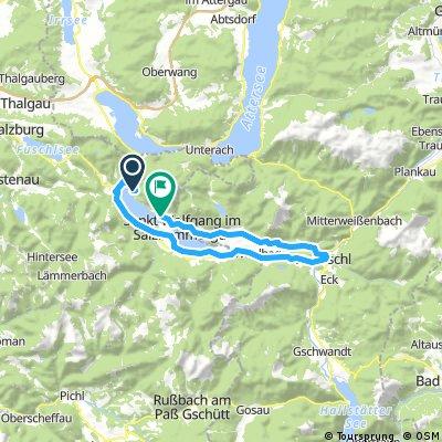 St. Gilgen - Wolfgangsee Rundfahrt über Bad Ischl
