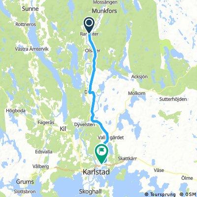 Sykkeltur Ranseter-Karlstad