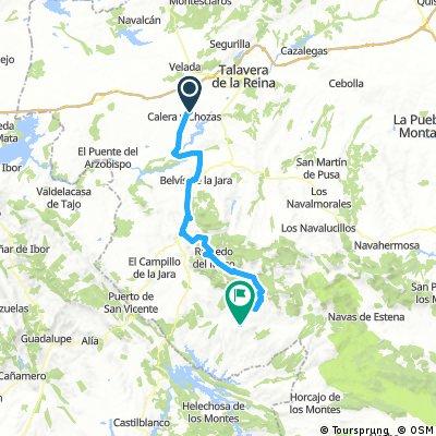Calera y Chozas_Anchuras 80km