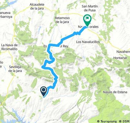 Anchuras_Los Navalmorales 50km